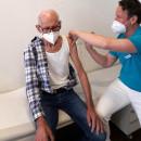 Erste Impfung im MVZ Langenau