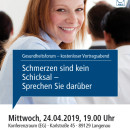 Gesundheitsforum Langenau, April 2019