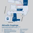 Zugänge zum Alb-Donau Klinikum Ehingen